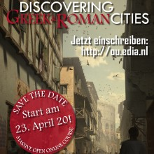 "Poster MOOC ""Discovering Greek & Roman Cities"""